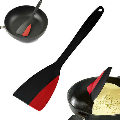 Multifunction Turner Scraper Polyamide Plastic and Silicone Kitchen Cooking Tool