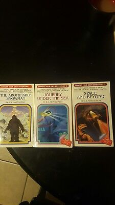 Choose your own adventure books 1-3 lot
