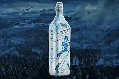 Johnnie Walker-The White Walker Special Edition Game of Thrones HBO Limited