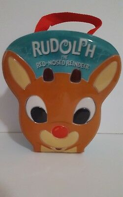 Carlton Cards Rudolph the Red Nosed Reindeer Ornament Set Carry Case Misfit Toys
