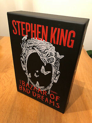 Stephen King - The Bazaar Of Bad Dreams slipcase (brand new) FREE SHIPPING