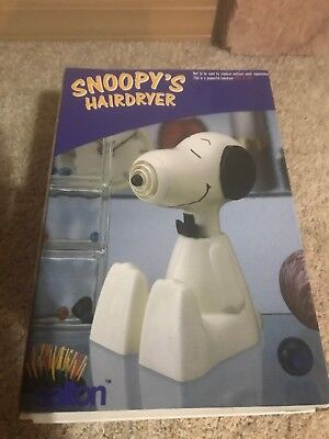 """Collectible Vintage """"snoopy's Hairdryer"""""""