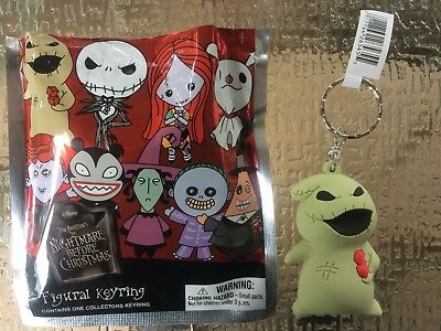 Disney ~ Nightmare Before Christmas ~ Figural Key Chain ~ OOGIE BOOGIE