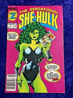 She-Hulk #1 Marvel Comic Book John Byrne