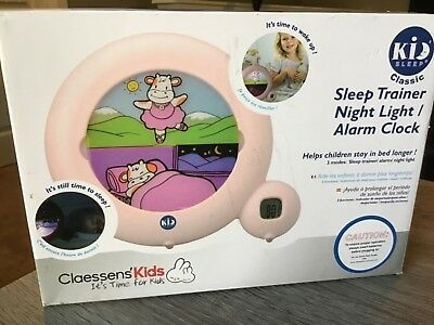 New Claessens' Kids Kid Sleep Classic Sleep Trainer / Night Light / Alarm Clock