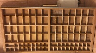 PRINTERS Full Size  TYPE CASE Or DRAWER With Handle