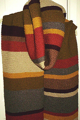 "Doctor Who Season 12 Acheson Hero Type Scarf 4th Doctor 136"" Costume Ready2Ship!"