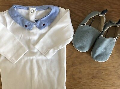 Jacadi One Piece 3M & Country Road Baby Shoes Size 18