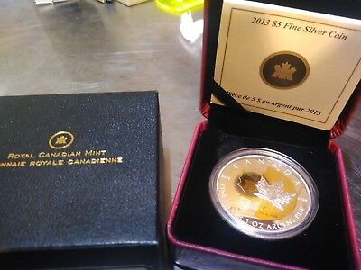 2013 Royal Canadian Mint $5 Silver coin, 25th Anniversary of the SML