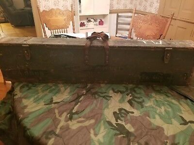 WW2 transit chest for a No4Mk1 (T) British Enfield sniper rifle
