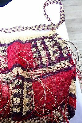 Papua New Guinea Billum Bag Colourful …beautiful collection / accent