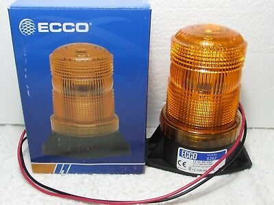 ECCO 6262A Safety Forklift & Material Handling Strobe Light Amber 12-80VDC NEW