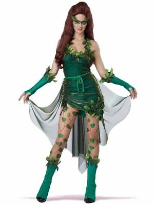 Lethal Beauty Womens Halloween Costume, Women's Poison Ivy Lethal Beauty Costume