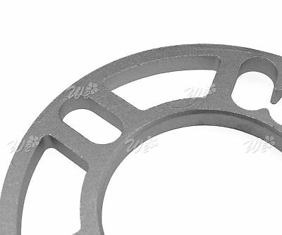 4 X 10Mm Alloy Wheel Spacers Shims Spacer Universal 4 And 5 Stud Fit