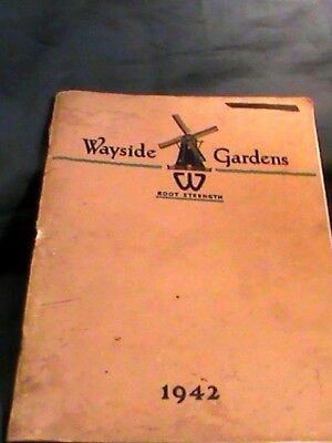 nursery catalog: Wayside Gardens 1942, flowers, seeds, plants, hedges etc.