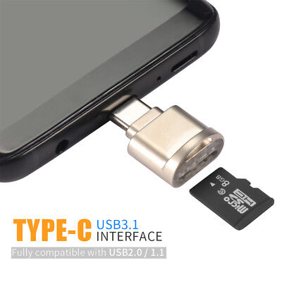 USB C 3.1 Type C To USB 3.1 OTG HUB Adapter & SD/TF Micro SD Card Reader Hot
