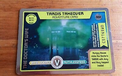Doctor Who Monster Invasion Extreme Rare Card #302 Tardis Takeover