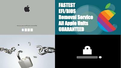 EFI BIOS UNLOCK REMOVAL SERVICE Apple Macbook 2009 - 2015, Pro - Retina - Air