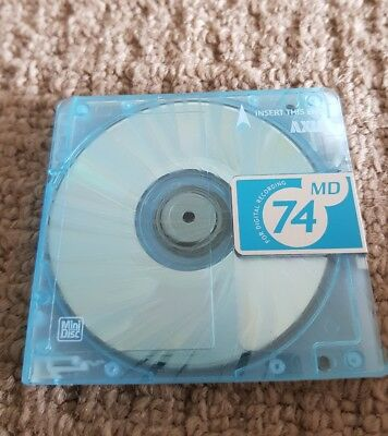 Mini Disc Used Recordable