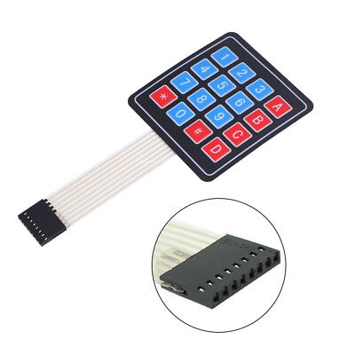5Pcs Matrix Array 16 Key Membrane Switch Keypad Keyboard For Arduino 4 x 4 AVR