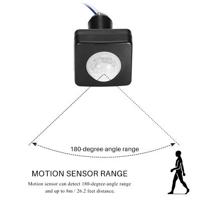 110/220V PIR Infrared Body Motion Sensor Control Switch Automatic Light NEW