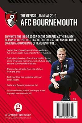 Official A.F.C. Bournemouth Annual 2019 by AFC Bournemouth New Hardback Book