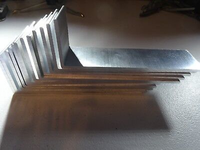 "2"" X 6"" Aluminum Angle 1/8"" Thick 1 1/2"" In Length (12 Pieces)"