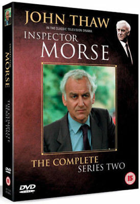 Inspector Morse Complete 2nd Series Dvd John Thaw Brand New & Factory Sealed