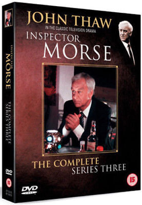 Inspector Morse Complete 3rd Series Dvd John Thaw Brand New & Factory Sealed
