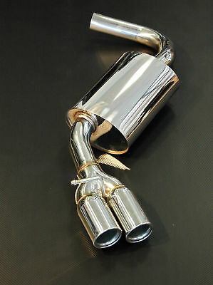 BMW 3 series E90 E92 E93 E91 316d, 318d, 320d Performance Exhaust Rear Silencer