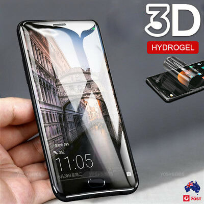 Hydrogel Aqua Flexible Screen Protector Self Repair for Motorola MOTO G6 G7 Plus