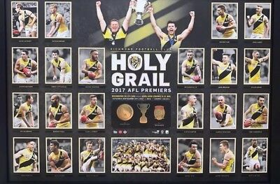 Richmond Tigers Afl Premiership Holy Grail Official Afl Print Framed Memorabilia