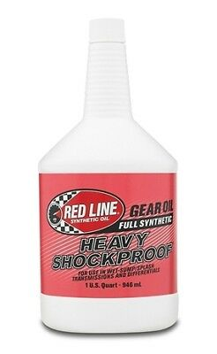 Red Line Gear Oil - Heavy - Shock Proof - 75W250 - Synthetic - 1 qt - Each