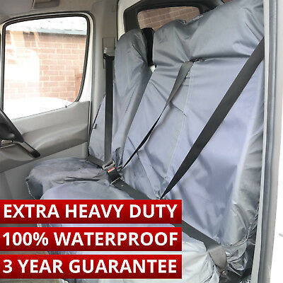 Citroen Berlingo Peugeot Partner Van Seat Covers 2+1 Heavy Duty 100% Waterproof