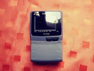 Casio TV-770D pocket television ( VHF ) in good condition