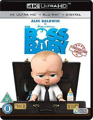 Boss Baby 4K Ultra HD Blu-Ray Digital New Sealed