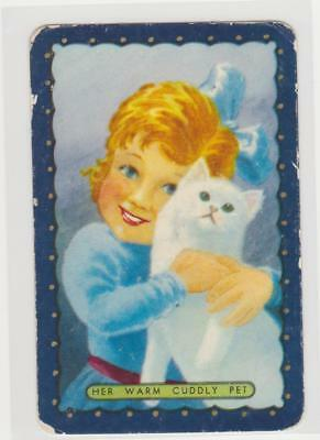 1  Single  Swap  Card   -   Coles / Her  Warm  Cuddly  Pet