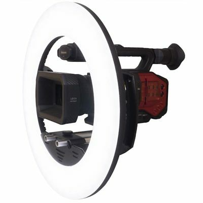LEDGO LG-R320C Large Dimmable LED Ring Light for Use on Location/Studio