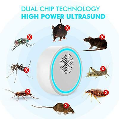 Ultrasonic Pest Repeller Plug in Pest Control Insect Repellent Bed Bugs Reject