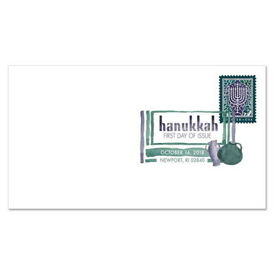 USPS New Hanukkah 2018 Digital Color Postmark