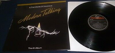 MODERN TALKING /IN THE MIDDLE OF NOWHERE 1986 - LP- RARE PORTUGAL PRESSUNG in NM