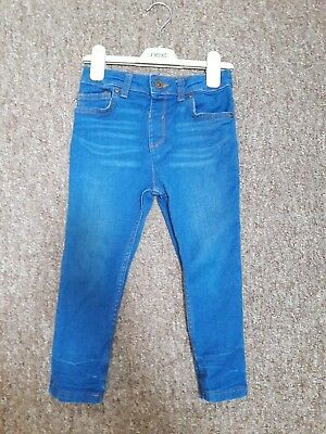 River Island Boys Skinny Jeans Age 5 Years Sid Skinny Blue Great Condition