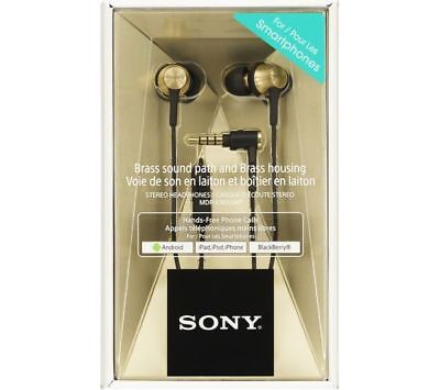 Sony MDR-EX650AP Gold/Black with Built In  mic