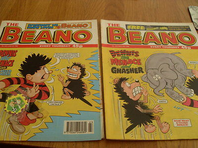The Beano Comic Issue's No 2915 / 2916 + Gift