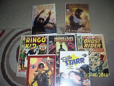 MATURE READERS ONLY Belle Starr Queen of Bandits #1-2  AND OTHER WESTERN COMICS
