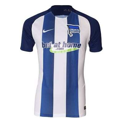 Nike Men's Hertha Berlin 2016/ 2017 SS Home Football shirt 808353 421New Size S