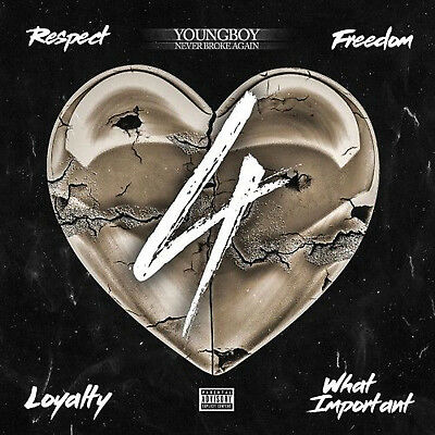 Nba Youngboy - 4 What Important, 4 Respect, 4 Loyalty, 4 Freedom [Ep] (Mix Cd)