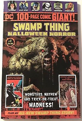 Swamp Thing DC Halloween Horror #1 100 Page Giant Magazine Wrightson Wein & More