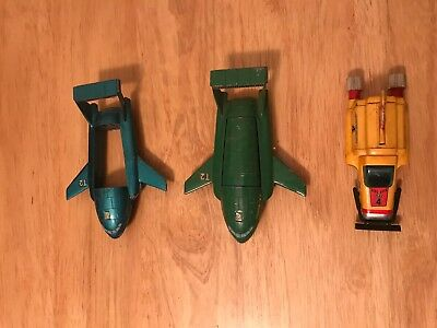 Vintage Thunderbird Toy Lot of 3 Toys, T2 and T4!
