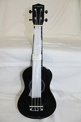 Martin Smith Soprano Size Ukulele - Black, New And Boxed With Cover        #wo#